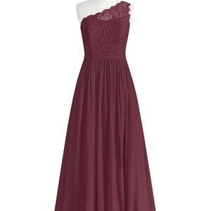 Azazie Cabernet Demi Dress
